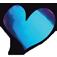 Loveness   Quartz Violet/Blue Pigment 1gr