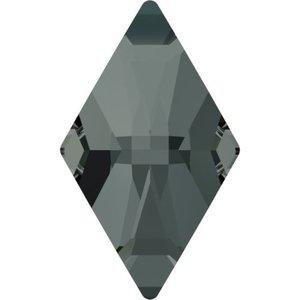 Swarovski Flat Backs Rhombus Black Diamond 10x6mm 6pcs (19)