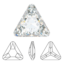 Swarovski Flat Backs Rivoli Triangle Diamond 5mm 6pcs (20)