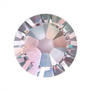 Swarovski Rose Flat Backs SS3 Crystal AB 70pcs (44)