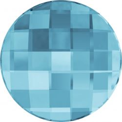 Swarovski Flatbacks 6mm Aquamarine 6pcs (38)