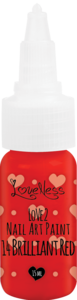 LoveNess | Love 2 Nail Art Paint Brilliant Red 014