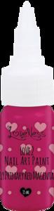 LoveNess   Love 2 Nail Art Paint P. Red Magenta 019