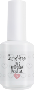 LoveNess | Love 2 Rubber Base Mask Pink 15ml