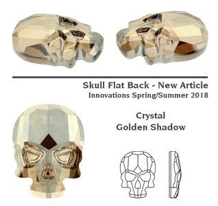 Swarovski Skull 2856 Golden Shadow 3pcs (76)