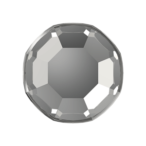 Swarovski Rose Flat Backs Crystal Silver Shade SS3 70pcs (90)